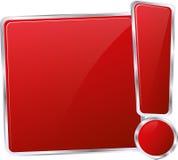 信息按钮 免版税库存图片