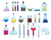 化工实验室商品 图库摄影