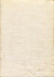 老奶油色纸纹理 免版税库存照片