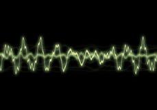 волны энергии Стоковые Изображения