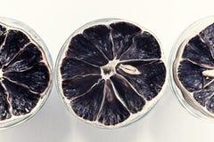 Группа в составе высушенные лимоны Стоковое Фото