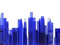 иллюстрация городского пейзажа Стоковые Изображения