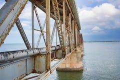 рельс Хонда моста Бахи Стоковое Изображение