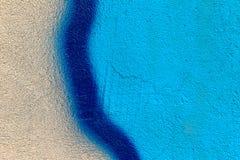 美好的街道艺术街道画 抽象创造性的颜色 库存图片