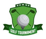高尔夫球设计 库存照片