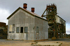 шахта сломленного холма историческая Стоковые Изображения