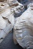 蓝色峡谷 库存照片
