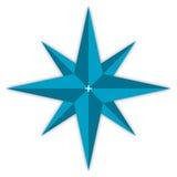 звезда компаса Стоковое Изображение RF