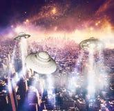 Нашествие чужеземца Стоковое Изображение RF