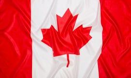 флаг Канады Стоковое Изображение RF