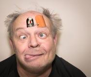 Τρελλό άτομο κούκων Στοκ Φωτογραφίες