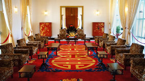 Интерьер дворца независимости, Хо Ши Мин Стоковые Фото