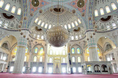 室内清真寺 免版税库存照片