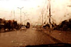 下雨 免版税库存照片