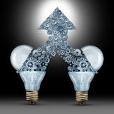 创造性的创新成功 免版税库存照片