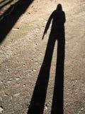 我的影子 免版税图库摄影