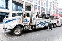 Φορτηγό ρυμούλκησης Στοκ Εικόνα