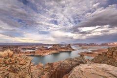 Озеро Пауэлл Стоковое Изображение RF