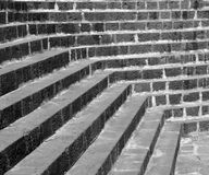 абстрактные лестницы Стоковая Фотография RF