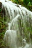 童话瀑布在黑森林德国费尔德伯格里 库存照片
