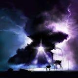 Война нашествия чужеземца Стоковое Фото