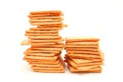 薄脆饼干或饼干 免版税库存图片