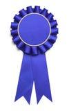 Μεγάλη μπλε κορδέλλα Στοκ Εικόνες