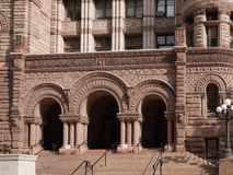 Здание муниципалитет Торонто старый Стоковое Изображение RF