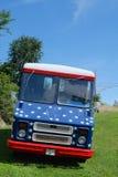 Πατριωτικό φορτηγό Στοκ Εικόνα