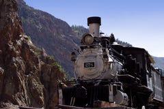античный поезд Стоковая Фотография