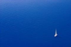 小船航行 库存照片