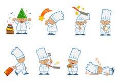 微小的厨师专辑 库存图片