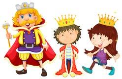 семья королевская Стоковое Фото