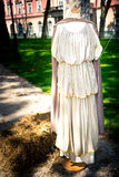罗马礼服,妇女 免版税库存图片