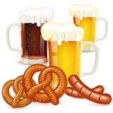慕尼黑啤酒节概念 免版税库存图片
