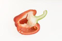 甜椒红色 库存图片