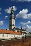 修道院在琴斯托霍瓦 库存图片