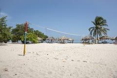 热带海滩胜地,特立尼达,古巴 库存照片