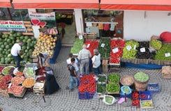农夫的市场在番红花城,土耳其 免版税图库摄影
