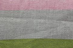 Πολύχρωμη σύσταση καμβά Στοκ Φωτογραφίες