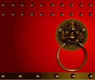 中国顶头狮子 免版税库存照片