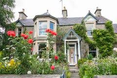 老,英国房子 免版税图库摄影