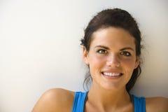 健身纵向妇女 免版税库存照片