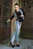 Панковская мода Стоковые Изображения RF