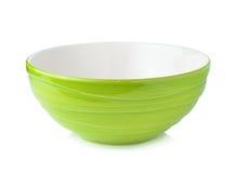 碗空的绿色 免版税库存图片