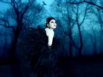 美丽的吸血鬼 免版税库存照片