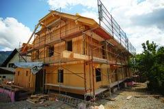 дом конструкции вниз Стоковое Фото