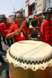 Музыка традиционного китайския Стоковое Фото