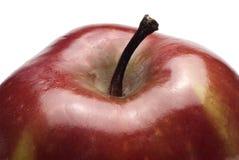 红色苹果,细节 免版税库存照片