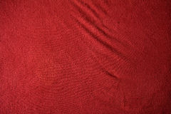 κόκκινη σύσταση υφασμάτων Στοκ Εικόνες
